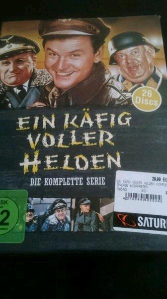 [Lokal: Saturn Köln-Hansaring] Ein Käfig voller Helden - Die Komplette Serie