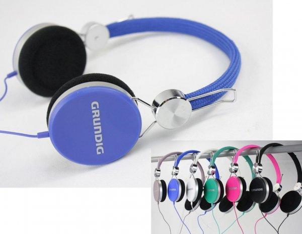 [TEDI] Grundig Stereo Kopfhörer in verschiedenen Farben für nur 8,00€