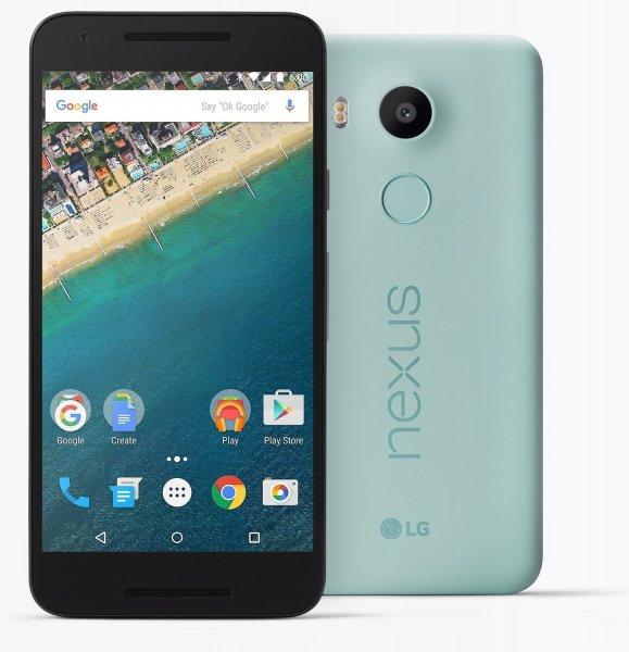 LG Nexus 5X 16GB Eisblau