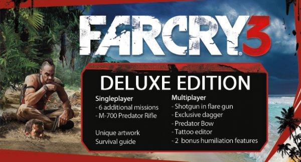 [Steam] Far Cry 3 Deluxe für 7,49Eur
