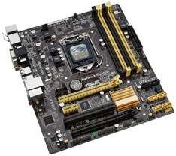 [Amazon.es] Asus B85M-E Mainboard Sockel 1150 (µATX, Intel B85, 4x DDR3 Speicher, 4x SATA 6Gb/s, 2x USB 3.0, 4x USB 2.0, PCIe 2.0)