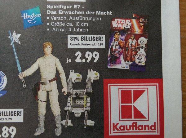 [Kaufland WEITERstadt] Hasbro Star Wars Spielfigur E7 für 2,99€ ab 22.08.16