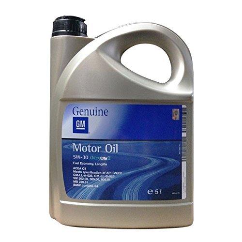 Update: 5 Liter GM Opel 5W-30 long life dexos2 Motoröl für nur 20,76 € statt 24,85 + Versand