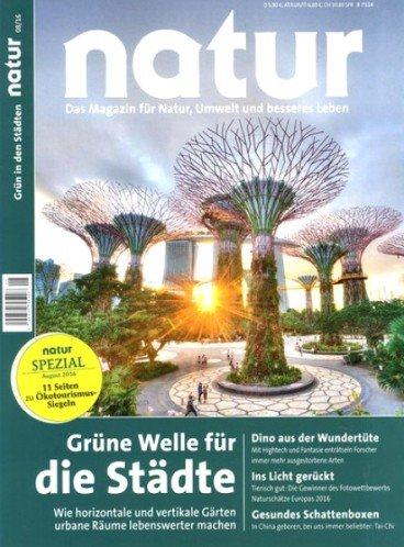"""Zeitschrift """"Natur"""" im Jahresabo für effektiv 0,80€ durch 5,00€ Rabatt bei Bankeinzug und 65€ BestChoice-Gutschein"""