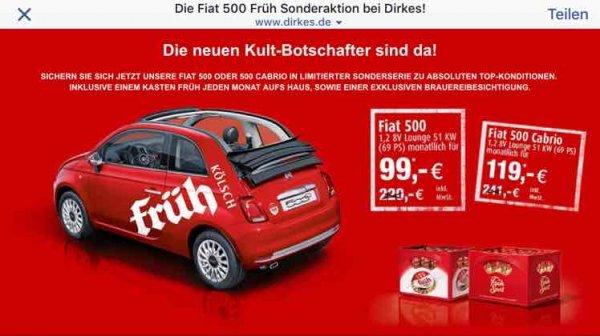 Fiat 500 Leasing