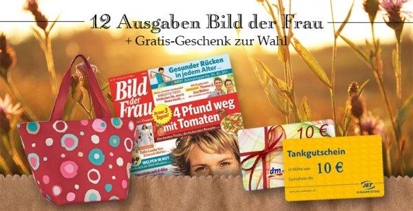 BILD der FRAU 12 Ausgaben effektiv gratis