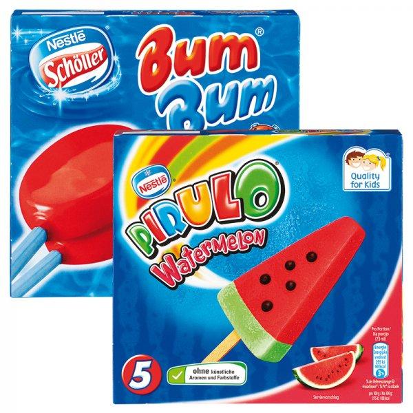 [NORMA] Schöller BumBum 4 Stk. // Schöller Pirulo Watermelon 5 Stk. für 1,88€
