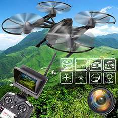 JXD 509G 5.8G 2.0MP Camera RC Quadcopter,Altitude Hold, Headless ,360*, FPV, EU-Ware @ Gearbest