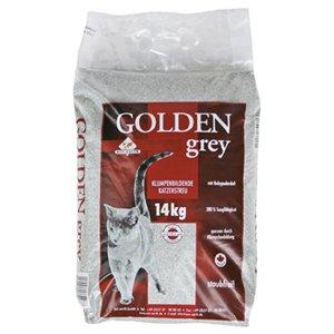 Medicanimal -Was für Katzenbesitzer- Golden Grey Streu -4x 14KG zu 19,92