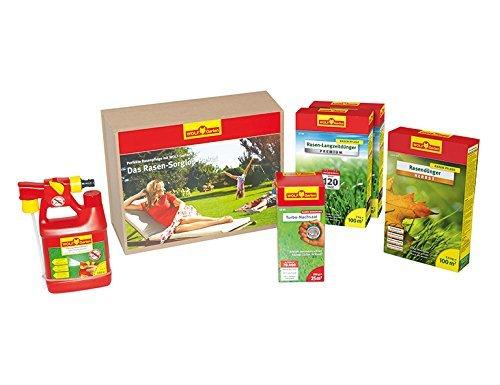 (AMAZON) Wolf-Garten Rasen-Sorglos-Paket 100 m² (granuliert)