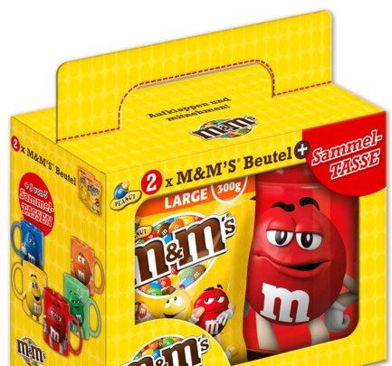 [Penny] Peanut M&M's + Sammeltasse