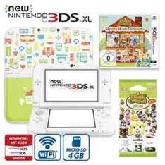 [real online und offline] New Nintendo 3DS XL inkl. Animal Crossing, Happy Home Designer 169€