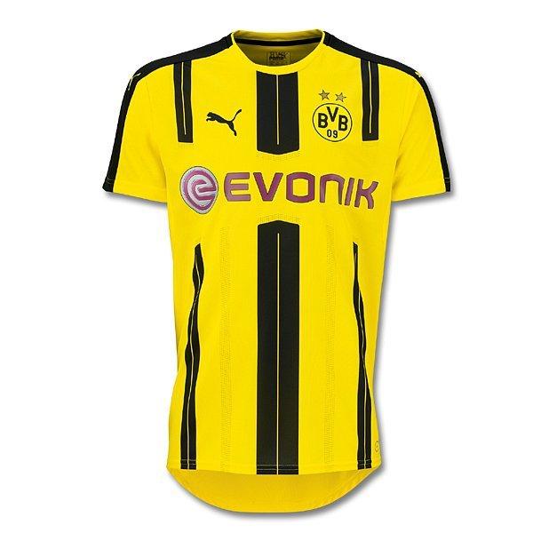 Original Borussia Dortmund Heimtrikot für Herren PUMA BVB HEIM TRIKOT 2016/17 GELB/SCHWARZ