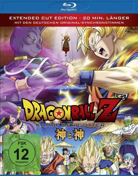 [Amazon Prime] Dragonball Z - Kampf der Götter [Blu-ray]  für 13,97 €