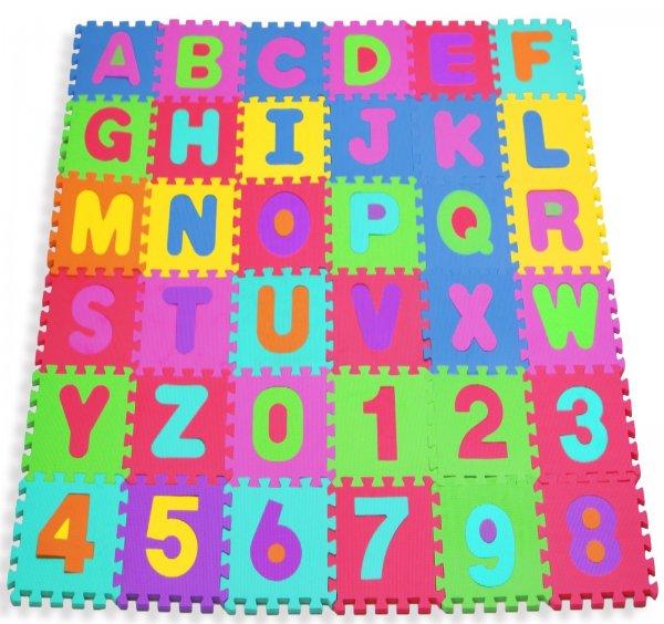 Kidiz Puzzlematte, 86-teilig, abwaschbar - für 16,95€ versandkostenfrei @allyouneed Tagesdeal
