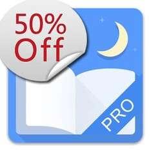 [Android] Moon Reader Pro *Bücher+Nachschlagewerke,  für 2,49 Euro statt 4,99€