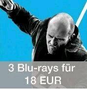 [Amazon] 3 Blu-rays für 18 EUR