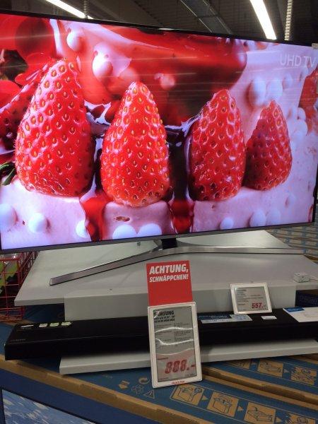 [Lokal Media Markt Weiterstadt] Samsung 55 KU 6459