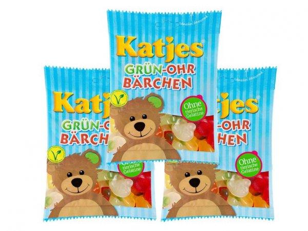 [LIDLOnline] 20 % auf 3er Multipack Katjes Grün-Ohr-Bärchen + versandkostenfrei
