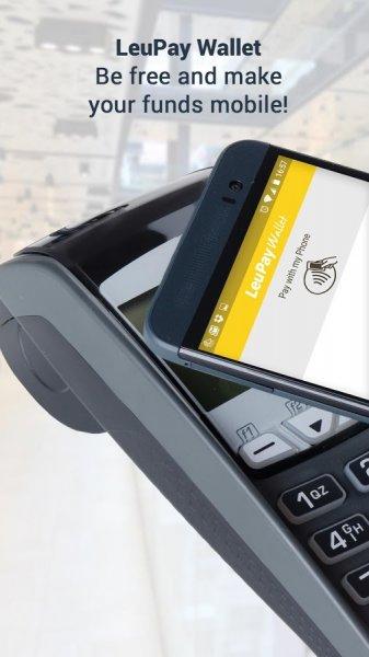 LeuPay Wallet: Gratis virtuelle Kreditkarte und kostenlose Alternative zu Boon bei NFC/PayPass Zahlungen per App