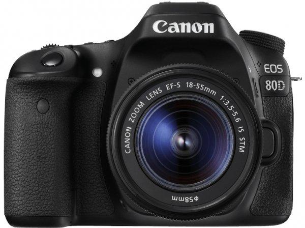 [Berlin Alexa] Canon EOS 80D 24.2 Megapixel Spiegelreflexkamera (Studenten: 788€)