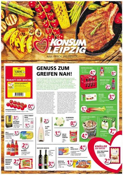 [Lokal Konsum Leipzig] 12x1 Liter Coca Cola für 4,99€ -> 41cent/Liter  + Pfand