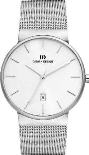 Danish Design Herren-Armbanduhr IQ62Q971 Analog Quarz Edelstahl