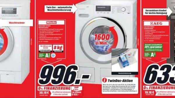 Miele Waschmaschine WMH 121 WPS 996 € (Idealo 1299€)