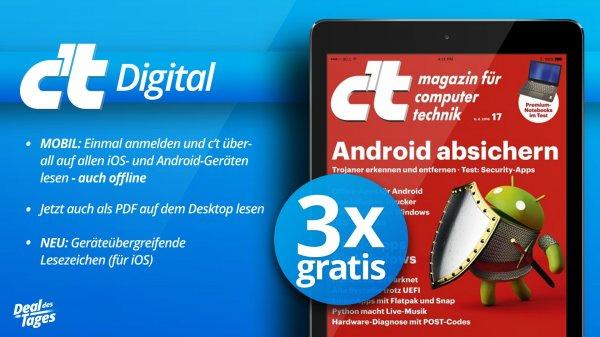 (epaper) 3 Ausgaben der ct digital gratis