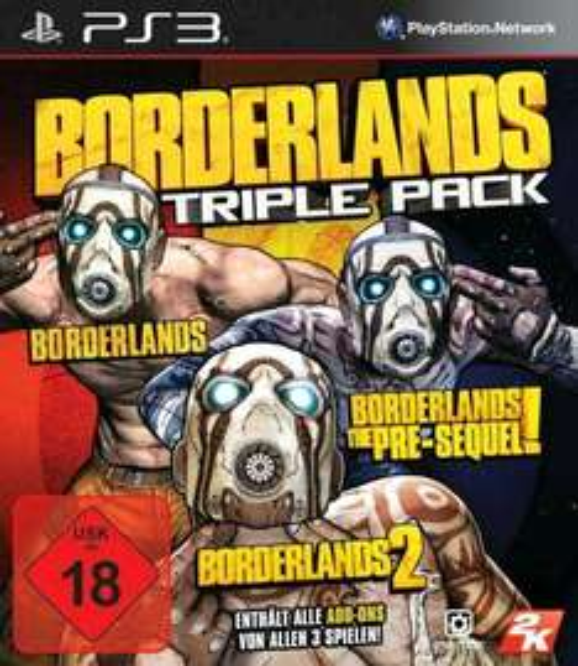 [Saturn/Abholung] Borderlands Triple Pack PS3 NEU