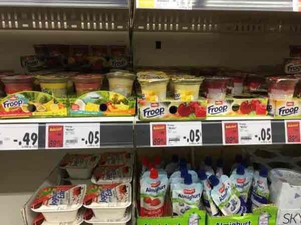 Lokal Hanau Kaufland Müller Froop für 5 cent in Hanau
