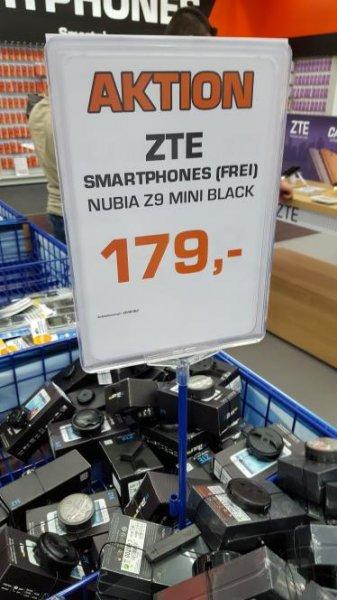ZTE Nubia Z9 mini black für 179 Lokal!?