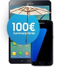 Telekom Magenta Mobil S Friends +  Samsung Galaxy S7 + Galaxy Tab S2 WiFi mit Cashback effektiv 9,24€ / -0,75 (M1) [preisboerse24.de]