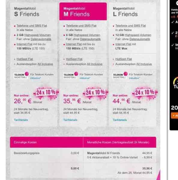 Telekom Vertrag bis zum 31.08