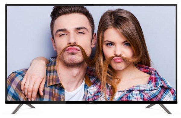 """TCL LED-TV 40"""" UHD WLAN """"U40S6906"""" (schwarz, DVB-T2/S2/C, HDMI, USB, LAN, WLAN, MHL)"""