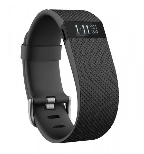 Fitbit Charge HR Schwarz Größe L und S aus Ebay.com (Lightly Used)