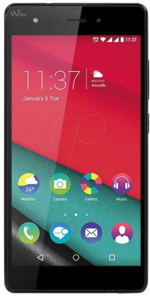 [amazon.fr] WIKO Pulp 4G, LTE-Dual-SIM Smartphone 5 Zoll, 1.2 GHz Quad Core 16 GB, 2 GB Ram, 2500 mAh, Android 5.1) in schwarz inkl. Vsk für 133,69 €