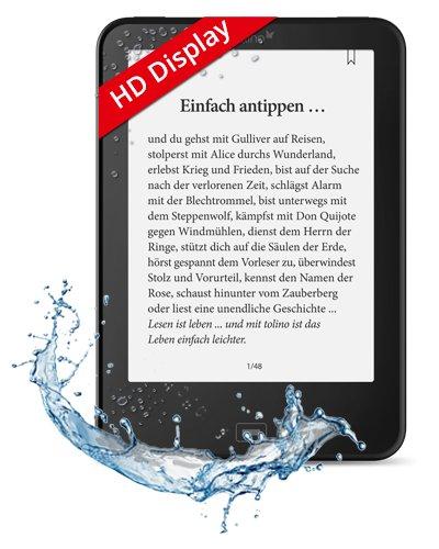 Tolino Vision 3 HD für € 129 bei Hugendubel durch € 30 Gutschein