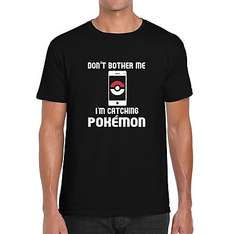 Pokémon GO Logoshirt - Don't bother me I'm catching Pokémon GO (+8% Shoop.de)