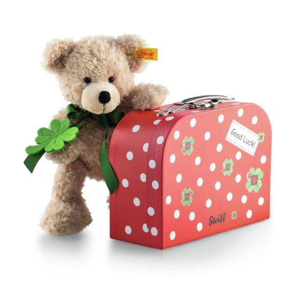 [Amazon] Steiff Fynn Teddybär im Koffer 24cm VORBEI