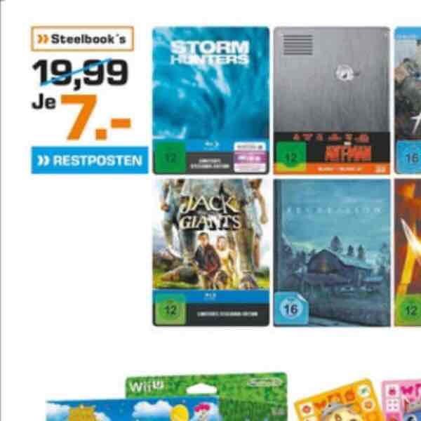 (Saturn Hattingen - Restposten) Ant-Man Blu-ray Steelbook 2D + 3D für 7€ (PVG 26,99€)