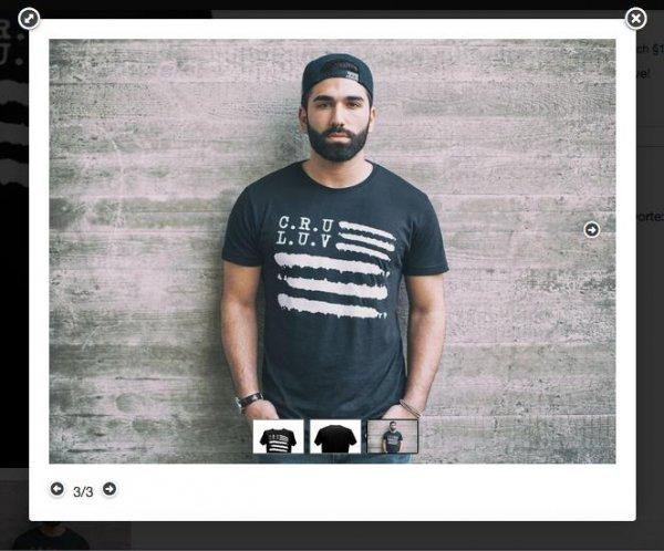 MFKA Clothing: Cru Luv T-Shirt für statt 22,41€ anstatt 34,80€ (inkl. VSK)