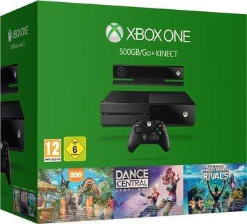 Microsoft Xbox One 500GB + 3 Kincect Games Bundle für 239,99 € bei Abholung o. mit Vsk für 243,98 € > [expert > technomarkt.de]