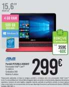 [SPANIEN, ALICANTE] Carrefour (Gran Via): Asus Pro Essential P2520LA-XO0385T (refurbished) für 299€