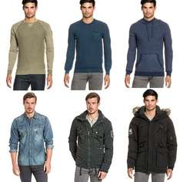 Khujo Herren Pullover / Jacken / (Jeans) Hemden Sale ab 19.99  / >50 versch. Artikel