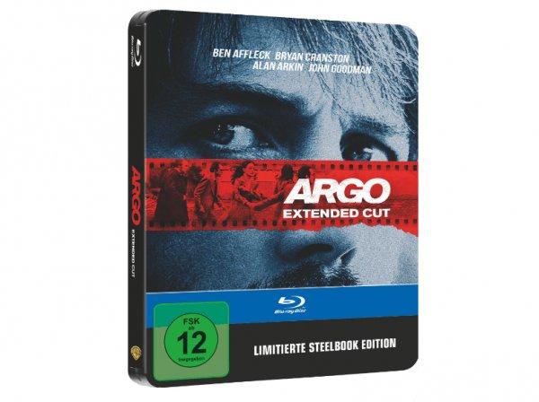 """""""Argo"""" - Extended Cut (Steelbook) (Bluray) für 5€ versandkostenfrei [Saturn]"""