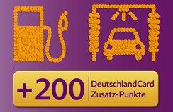 (deutschlandcard) 200 Extra Punkte beim Tanken + Waschen bei ESSO im September