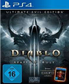 (Amazon Prime) Diablo III - Ultimate Evil Edition PS4 & XBox One