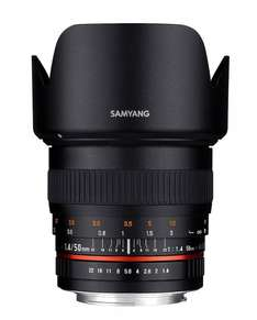 Samyang 50 mm f/1.4 AS UMC