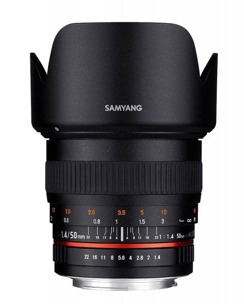 Samyang 50 mm f/1.4 AS UMC